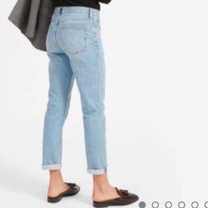 RARE Everlane boyfriend jeans in light wash